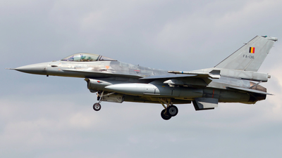 FA-136 - General Dynamics F-16AM Fighting Falcon - Belgium - Air Force