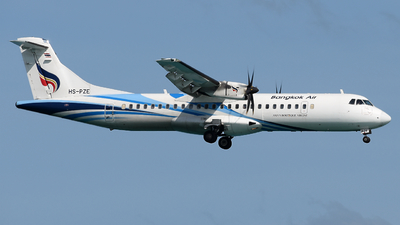 HS-PZE - ATR 72-212A(600) - Bangkok Airways