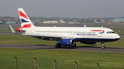 G-EUYO - Airbus A320-232 - British Airways