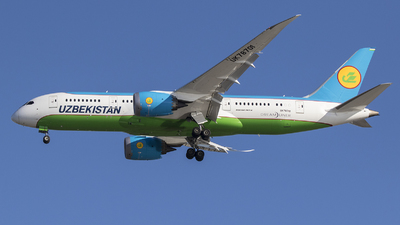 UK-78701 - Boeing 787-8 Dreamliner - Uzbekistan Airways