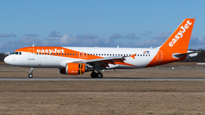 A picture of OEIZT - Airbus A320214 - easyJet - © marfi80