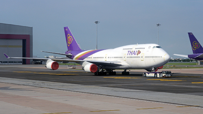 A picture of HSTGG - Boeing 7474D7 - [33771] - © Tek