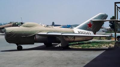 N90589 - Mikoyan-Gurevich MiG-15bis Fagot - Private