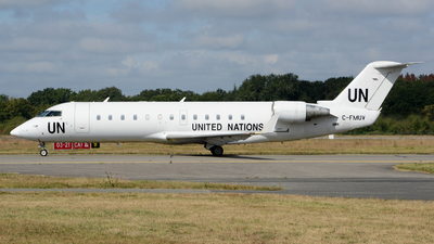 C-FMUV - Bombardier CRJ-200ER - United Nations (Voyageur Airways)
