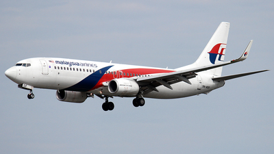 9M-MSF - Boeing 737-8H6 - Malaysia Airlines
