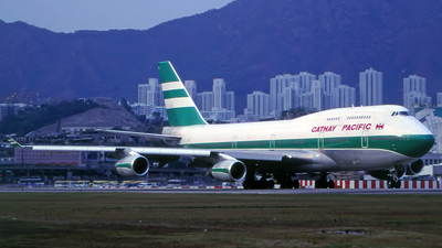 VR-HUE - Boeing 747-467 - Cathay Pacific Airways