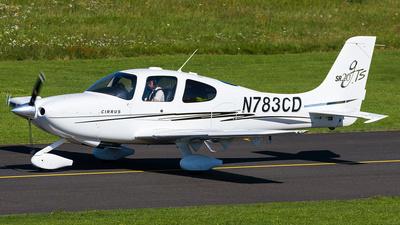 N783CD - Cirrus SR20-GTS - Private