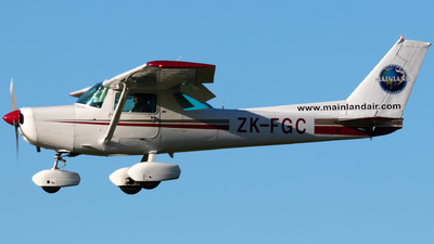 ZK-FGC - Cessna 152 - Mainland Air