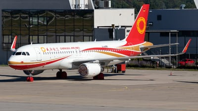 D-AUBO - Airbus A320-214 - Chengdu Airlines