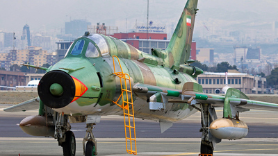 15-2476 - Sukhoi Su-22M4 Fitter K - Iran - Revolutionary Guard