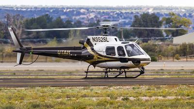 N352SL - Eurocopter AS 350B2 Ecureuil - United States - State of Utah