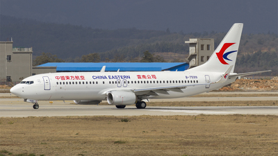 B-7599 - Boeing 737-89P - China Eastern Airlines