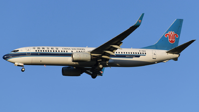 B-1923 - Boeing 737-86N - China Southern Airlines