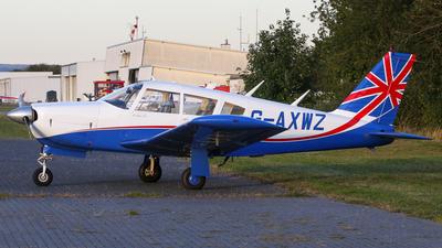 G-AXWZ - Piper PA-28R-200 Cherokee Arrow - Private