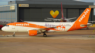A picture of GEZUC - Airbus A320214 - easyJet - © Cameron Gaines1