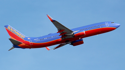 N8609A - Boeing 737-8H4 - Southwest Airlines
