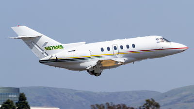 N878MB - Raytheon Hawker 800XP - Private