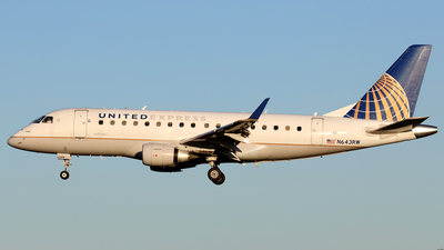 A picture of N643RW - Embraer E170SE - United Airlines - © Scott Kerhaert