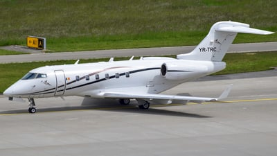 A picture of YRTRC - Bombardier Challenger 300 -  - © martin.thut