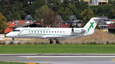 A picture of 9HCLG - Mitsubishi Challenger 850 - Air X Charter - © Christoph Plank