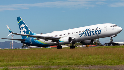 A picture of N448AS - Boeing 737990(ER) - Alaska Airlines - © Alonso Cisneros