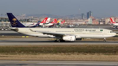 HZ-AQ12 - Airbus A330-343 - Saudi Arabian Airlines