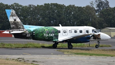 TG-TAY - Embraer EMB-110P1 Bandeirante - TAG Airlines - Transportes Aéreos Guatemaltecos