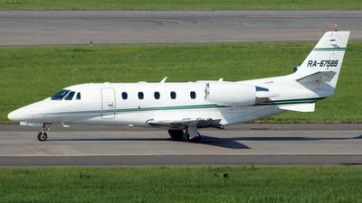 RA-67589 - Cessna 560XL Citation XLS+ - Private