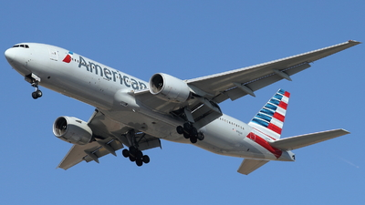 A picture of N762AN - Boeing 777223(ER) - American Airlines - © ikeharel