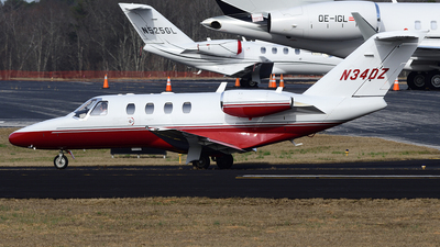 N34DZ - Cessna 525 CitationJet 1 Plus - Private