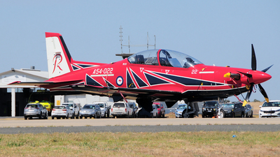 A54-022 - Pilatus PC-21 - Australia - Royal Australian Air Force (RAAF)