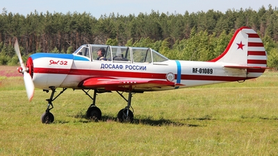 RF-01089 - Yakovlev Yak-52 - Russia - Defence Sports-Technical Organisation (ROSTO)