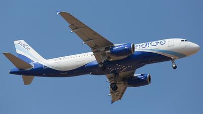 VT-IEI - Airbus A320-232 - IndiGo Airlines