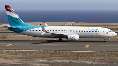 A picture of LXLBA - Boeing 7378C9 - Luxair - © Manu Aldana