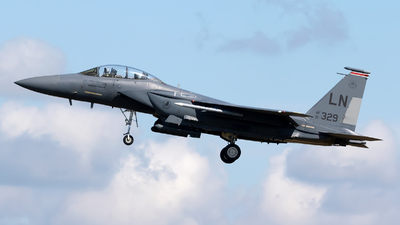 91-0329 - McDonnell Douglas F-15E Strike Eagle - United States - US Air Force (USAF)