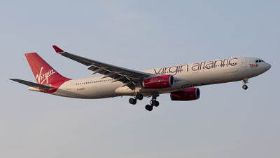 G-VSXY - Airbus A330-343 - Virgin Atlantic Airways