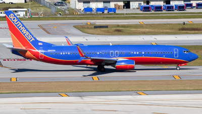 A picture of N8609A - Boeing 7378H4 - Southwest Airlines - © Davin Amy