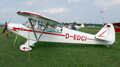 D-EDCI - Piper PA-18-95 Super Cub - Private