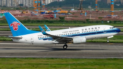 A picture of B5281 - Boeing 73771B - China Southern Airlines - © SunnyZUUU