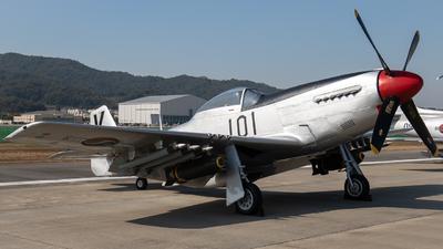 101 - North American P-51D Mustang - South Korea - Air Force
