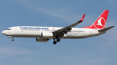 TC-JVC - Boeing 737-8F2 - Turkish Airlines