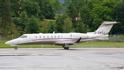 G-ZNTJ - Bombardier Learjet 75 - Private