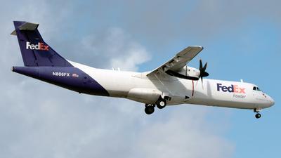 N806FX - ATR 72-212(F) - FedEx Feeder (Mountain Air Cargo)