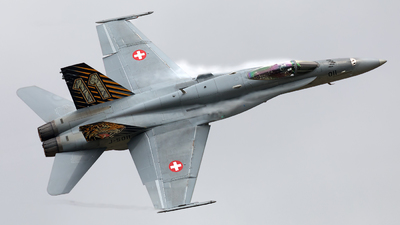 J-5011 - McDonnell Douglas F/A-18C Hornet - Switzerland - Air Force