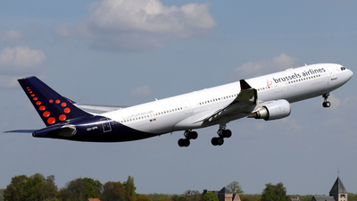 OO-SFN - Airbus A330-301 - Brussels Airlines