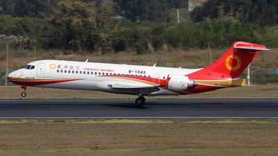 A picture of B104X - Comac ARJ21700 - Chengdu Airlines - © YIJING HOU