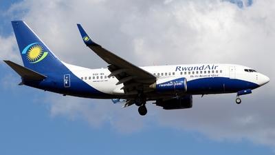 9XR-WK - Boeing 737-7K5 - RwandAir