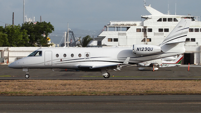 N123QU - Gulfstream G150 - Private