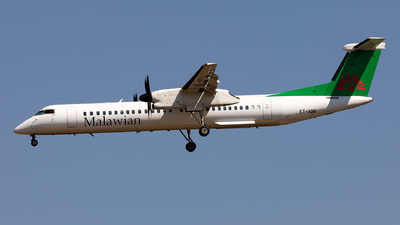 A picture of ETAQB - De Havilland Canada Dash 8400 - Malawian Airlines - © Sebastian Sowa
