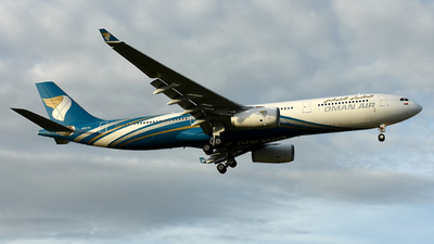 A picture of A4ODJ - Airbus A330343 - Oman Air - © Vicknesh PS